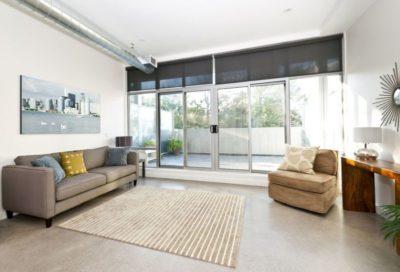 15374911 - living room with sliding glass door to balcony - artwork from photographer portfolio