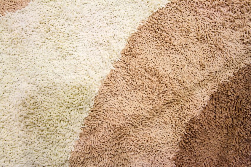 15354683 - a beige carpet texture, close-up